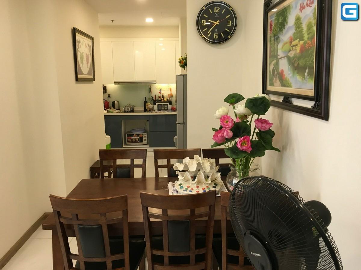 Cho thuê căn hộ Park 4 Vinhomes Central Park View Công Viên lầu 15, Full Nội Thất