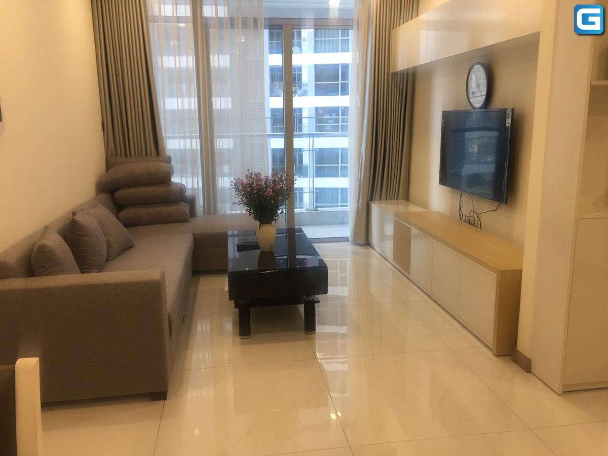 Cho thuê 2 phòng ngủ Park 2 Vinhomes Central Park tầng 26 Full Nội Thất