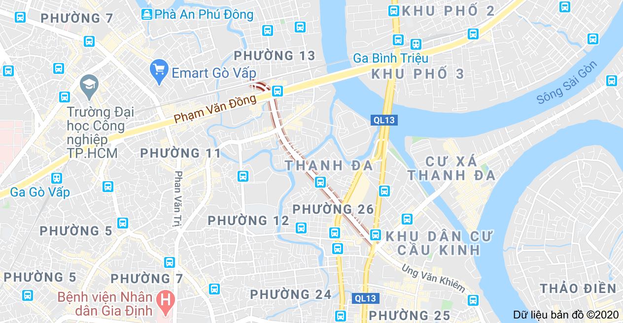Đường Nguyễn Xí – Tiến độ Quy hoạch và các dự án mới 2020