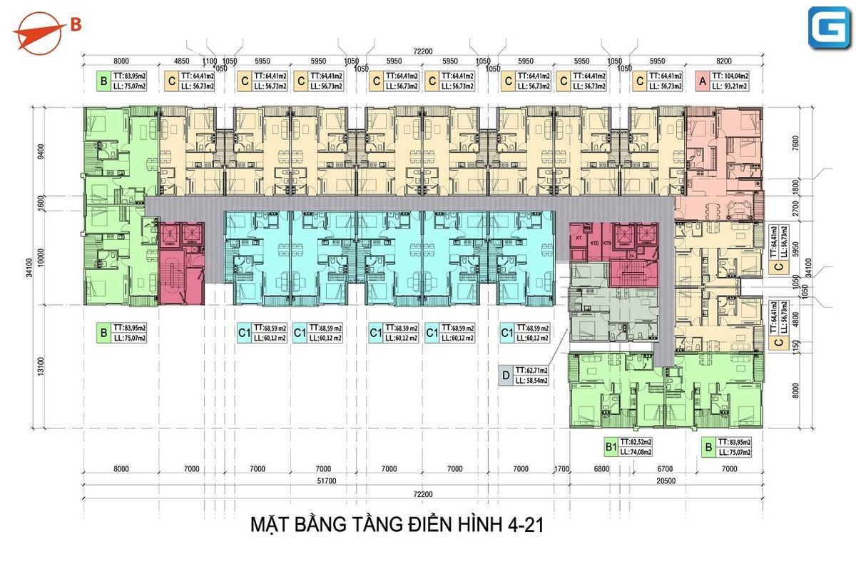 Căn hộ chung cư cao cấp Minh Quốc Plaza căn hộ thoáng mát tăng giá trị