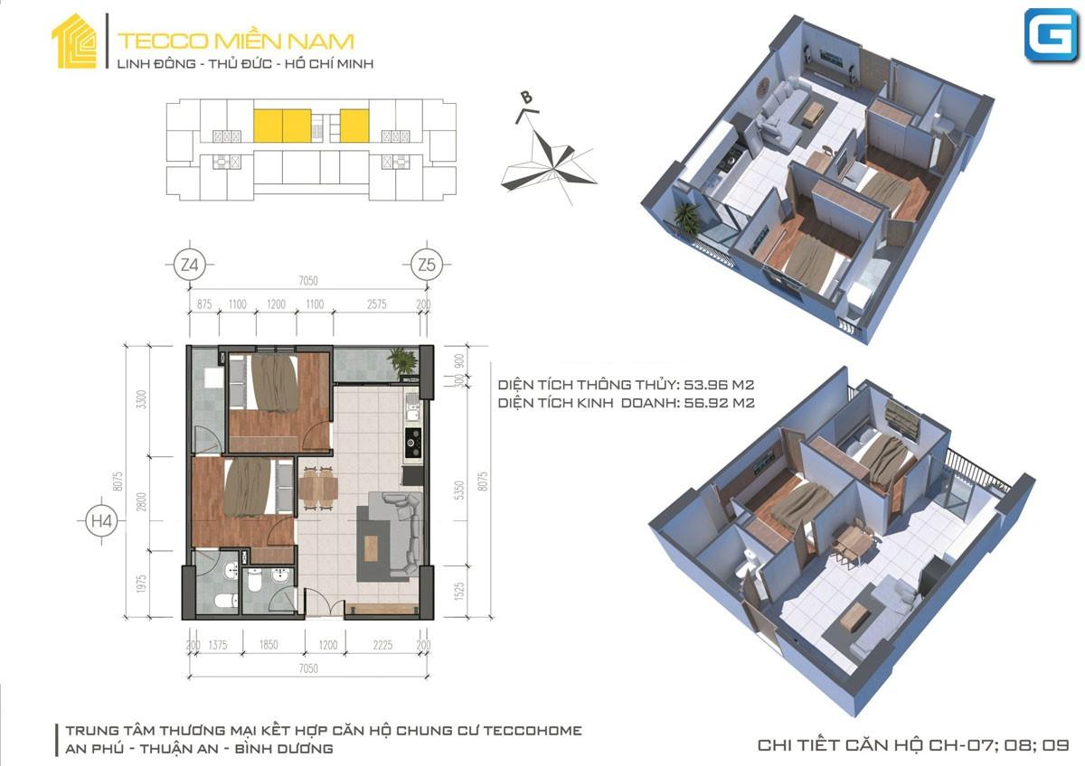 Tecco Home An Phú căn hộ cao cấp tầm nhìn rộng mở giá cập nhật