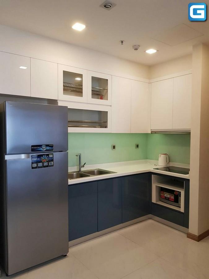 Cho thuê gấp Vinhomes Park 1 căn 2 phòng ngủ lầu 17, Full Nội Thất