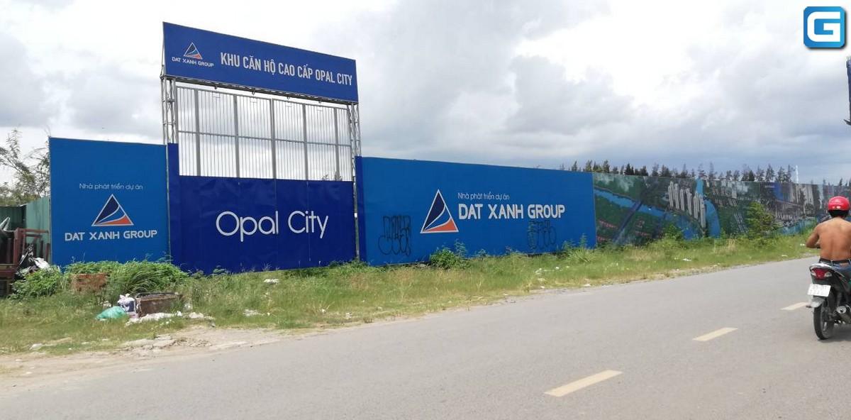 dự án căn hộ Opal City Đất Xanh Quận 9