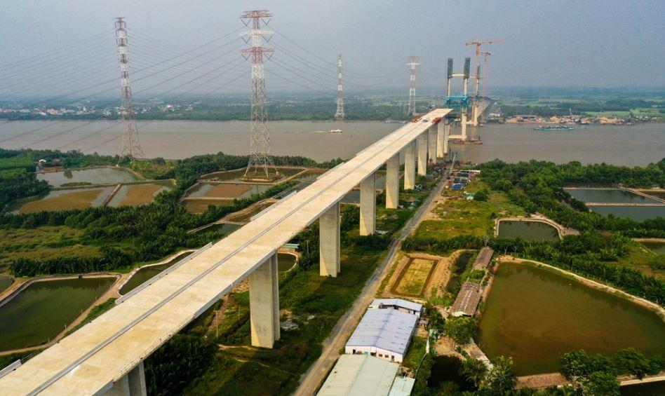 quy hoạch và tiến độ cầu Phước Khánh