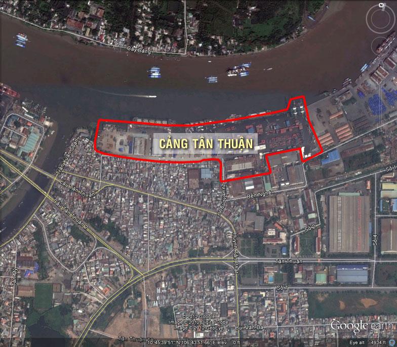 Quy hoạch Cảng Tân Thuận