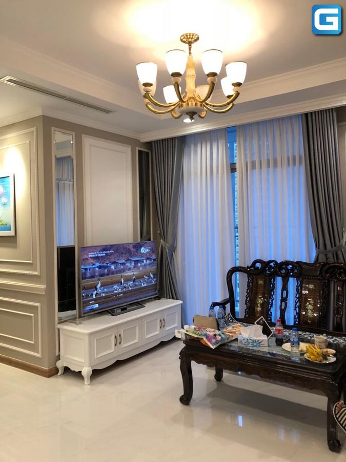 Cho thuê căn hộ Vinhomes Central Park 2PN, tháp Central 2, đầy đủ nội thất, view nội khu