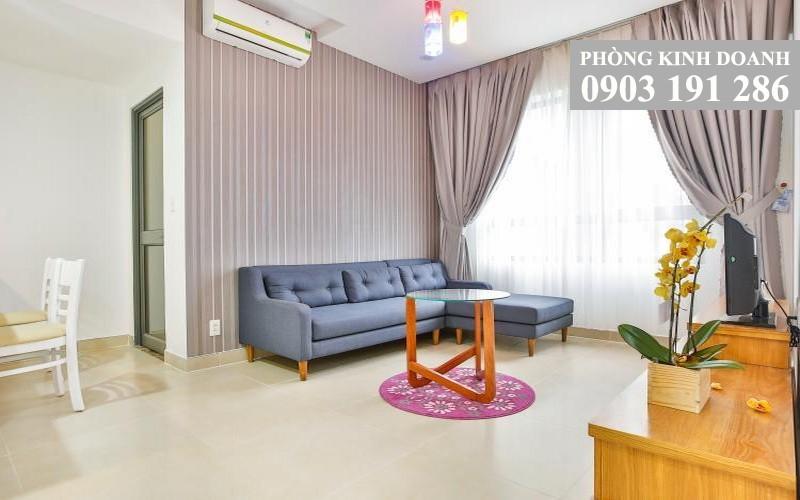 Căn hộ Masteri Thảo Điền cho thuê 1 phòng ngủ tầng 10 tháp T3 nội thất 49 m2 view hồ bơi nội khu 600 USD