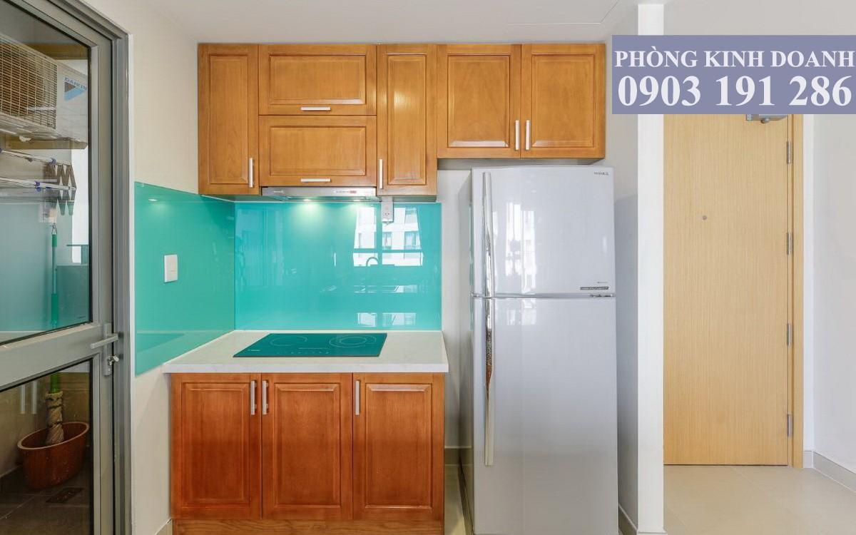 Cho thuê căn hộ Masteri Thảo Điền 2 phòng ngủ tầng 12 block T2 đủ nội thất 70 m2 view hồ bơi 750 USD/tháng