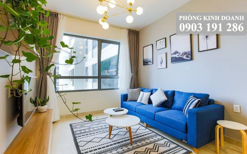 Căn hộ Masteri Thảo Điền cho thuê 1 phòng ngủ lầu 15 tháp T2 full nội thất view hồ bơi 650 USD/tháng