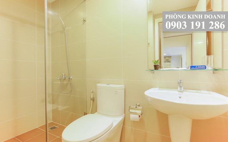 Căn hộ Masteri Thảo Điền cho thuê 2 phòng ngủ tầng 9 tháp T1 nhà đẹp 64 m2 view trung tâm 750 USD/th