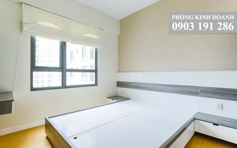 Cho thuê căn hộ Masteri Thảo Điền 2 phòng ngủ tầng 20 toà T3 nội thất xịn 70 m2 view sông Sài Gòn 850 USD/tháng