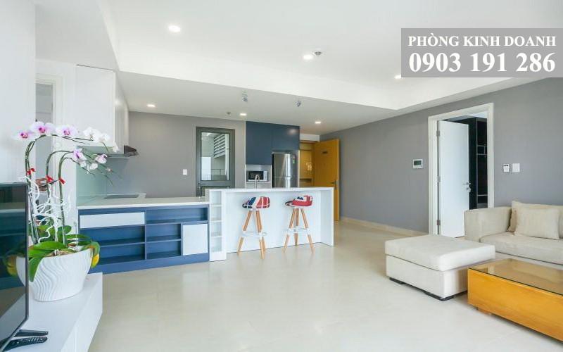 Căn hộ Masteri Thảo Điền cho thuê 3 phòng ngủ tầng 9 block T3 nội thất xịn view sông 1100 USD