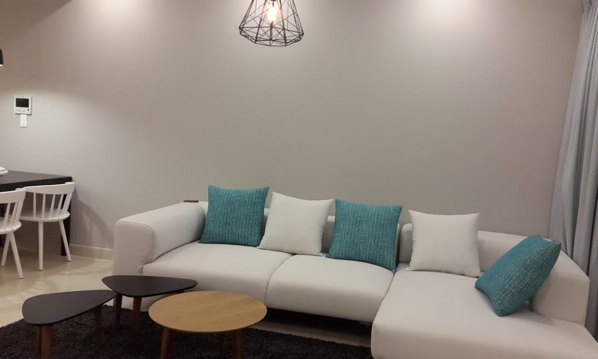 Cho thuê Masteri Thảo Điền 3 phòng ngủ lầu 36 toà T1 nội thất full view sông 1100 USD/tháng