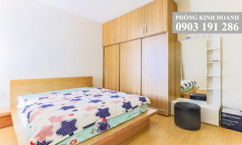Căn hộ Masteri Thảo Điền cho thuê 1 phòng ngủ lầu 11 tháp T1 nội thất view thành phố 600 USD