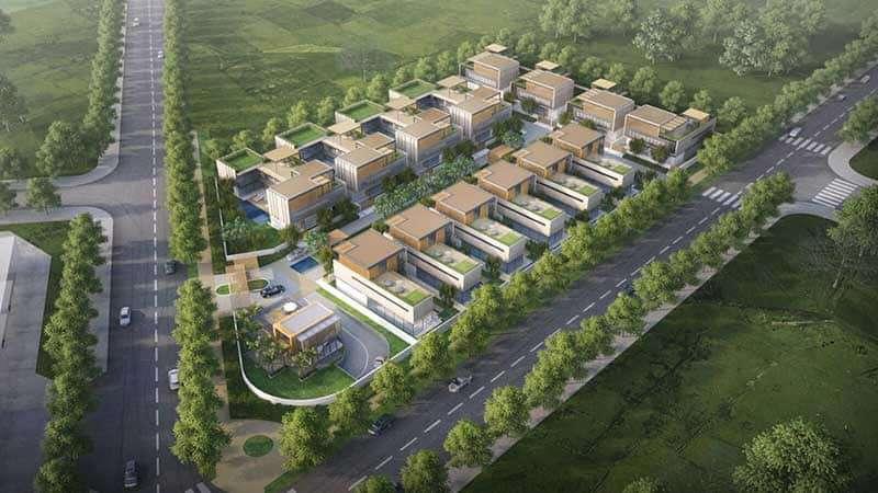 dự án Nhà phố biệt thự Quận 2