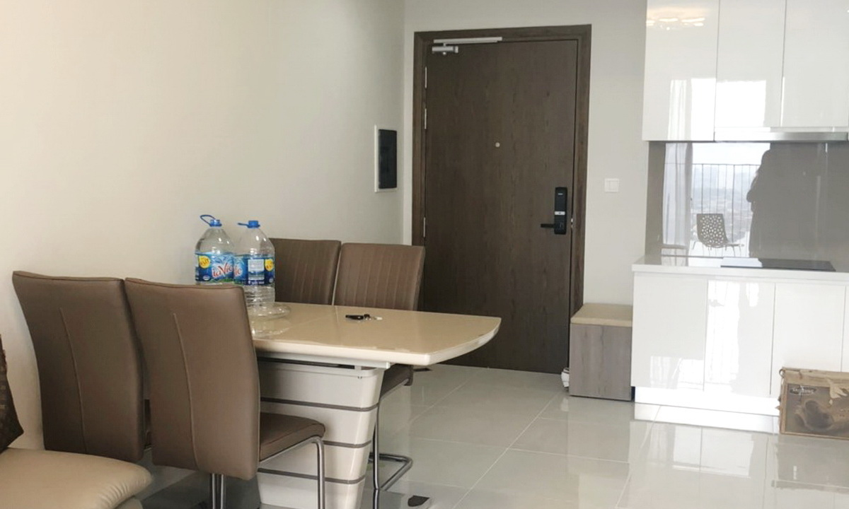 Cho thuê căn hộ Masteri An Phú 2 phòng ngủ đủ nội thất toà A lầu 26