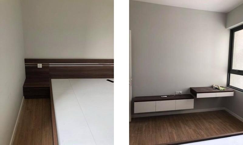 Cho thuê căn Masteri An Phú 1 phòng ngủ nội thất lầu 9 toà B thoáng
