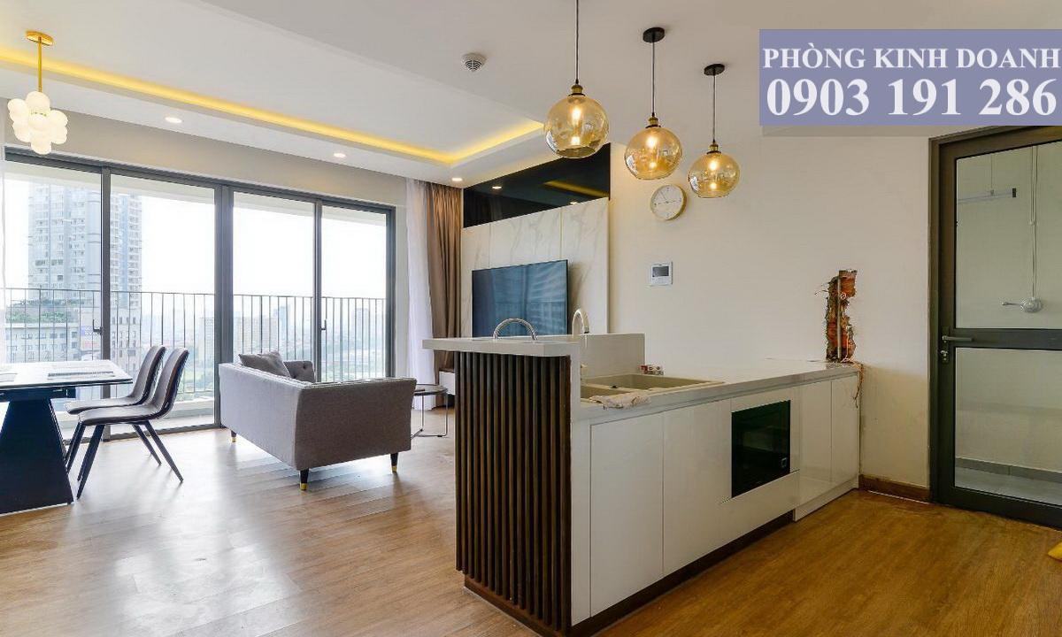 Cho thuê 3 phòng ngủ Masteri An Phú có nội thất view city toà B lầu 11