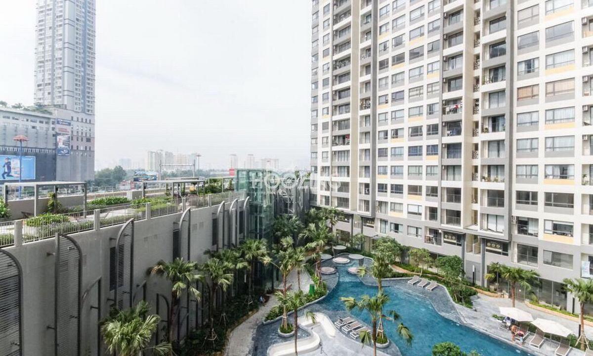 Cho thuê Masteri An Phú 2 phòng ngủ nội thất view hồ bơi toà B lầu 5