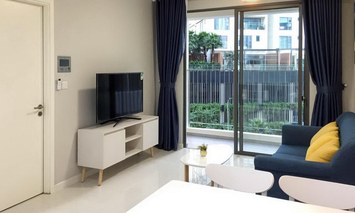 Cho thuê căn toà A lầu 3 Masteri An Phú 1 phòng ngủ nội thất cao cấp