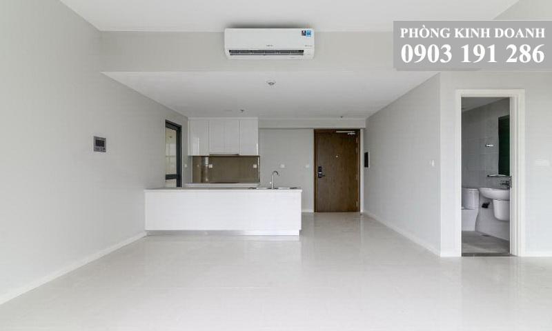 Cho thuê căn toà B lầu 15 Masteri An Phú 3 phòng ngủ view trung tâm