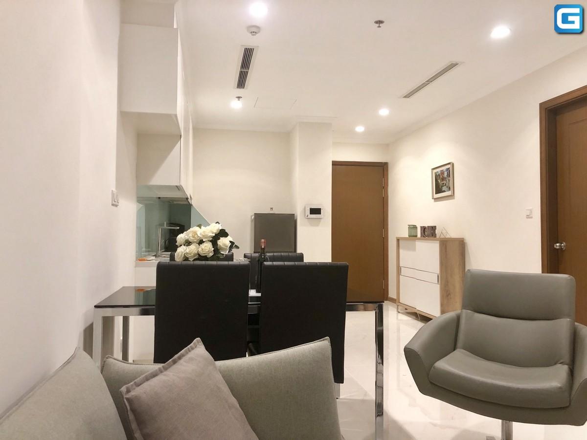 Cho thuê căn hộ 1PN Vinhomes Bình Thạnh Landmark 2 nội thất đẹp View City