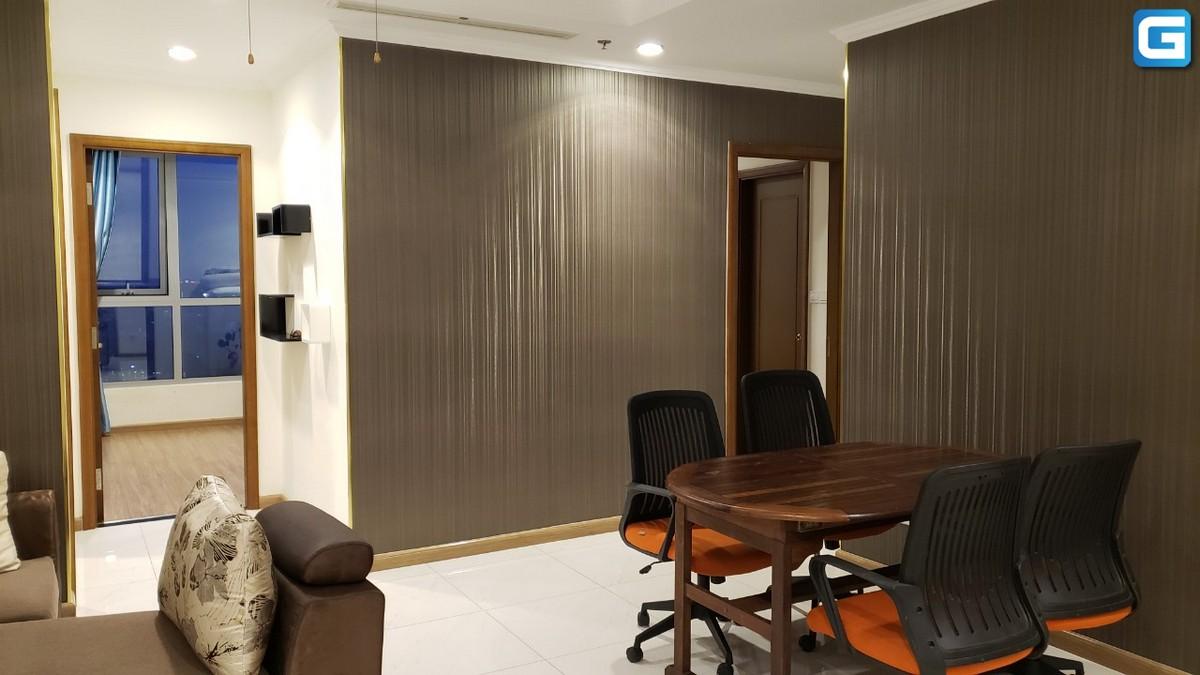 Cho thuê căn hộ Vinhomes Central Parl 3PN, đầy đủ nội thất, view sông và Bitexco, xem nhà 24/24
