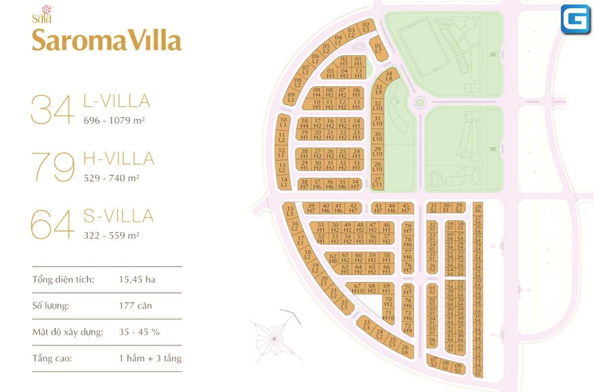 Saroma Villa Sala