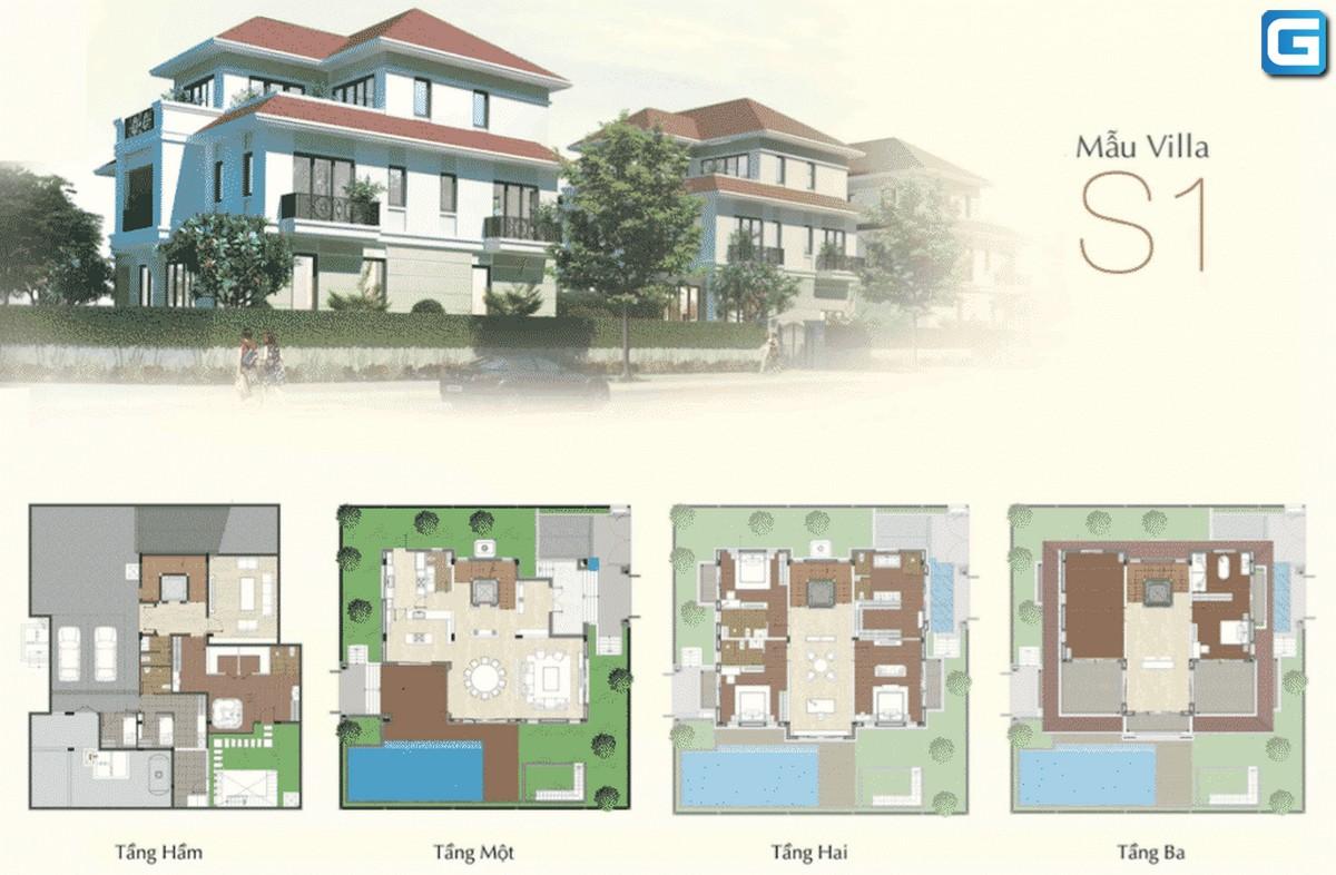biệt thự Saroma Villa Sala thủ thiêm quận 2