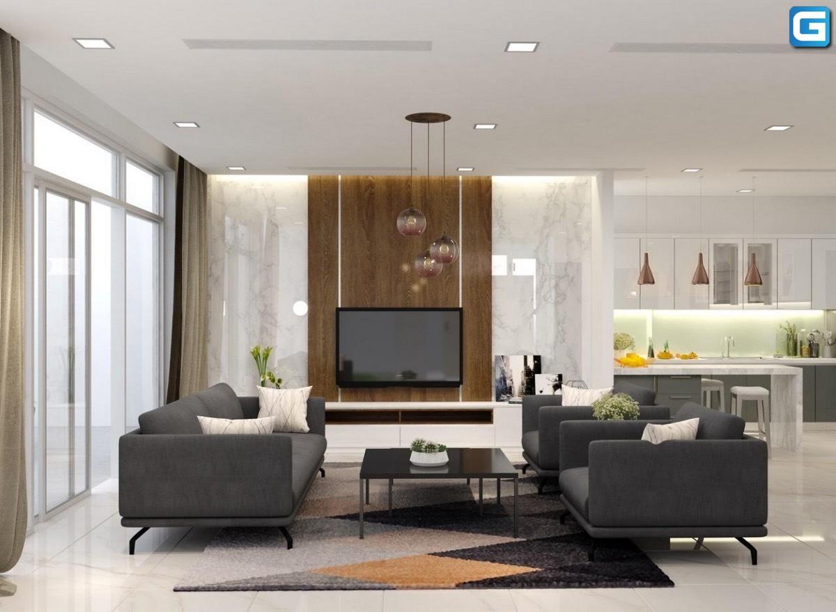 Cho thuê căn hộ 4PN Vinhomes Central Park 187m2, View Trực Diện Sông, Full Nội Thất