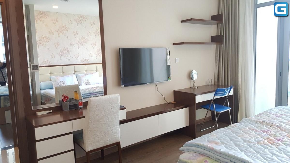 Cho thuê căn hộ 4PN Vinhomes Central Park View Sông, Đầy đủ nội thất, lầu trung