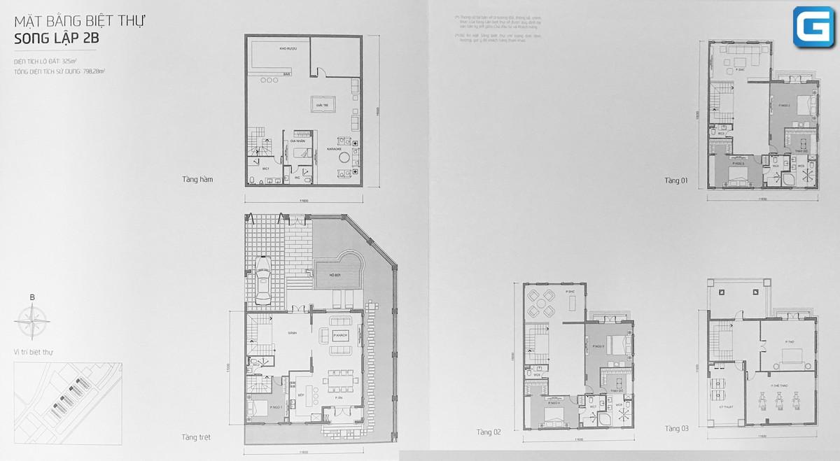 dự án biệt thự The Victoria Vinhomes Golden River Quận 1