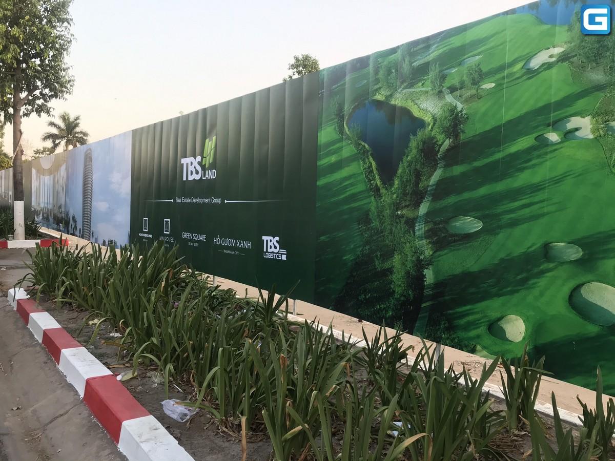 dự án căn hộ Green Square dĩ an Bình Dương