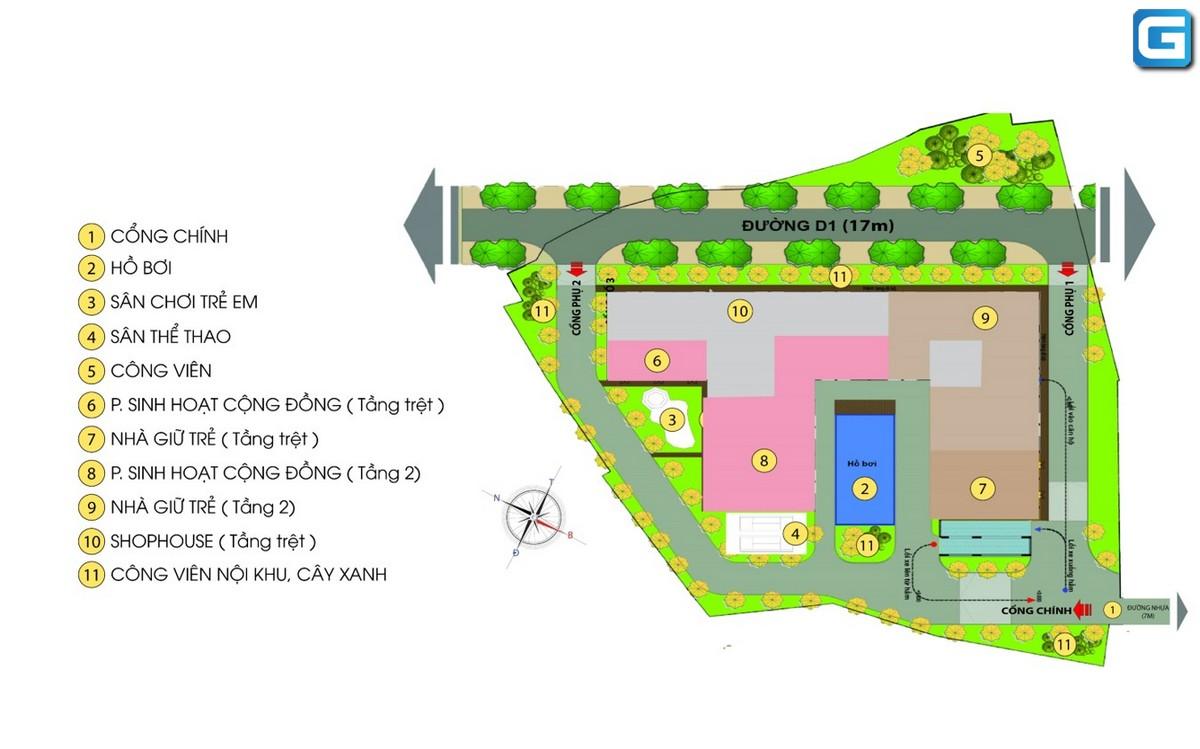 dự án căn hộ Bcons Green View dĩ an bình dương
