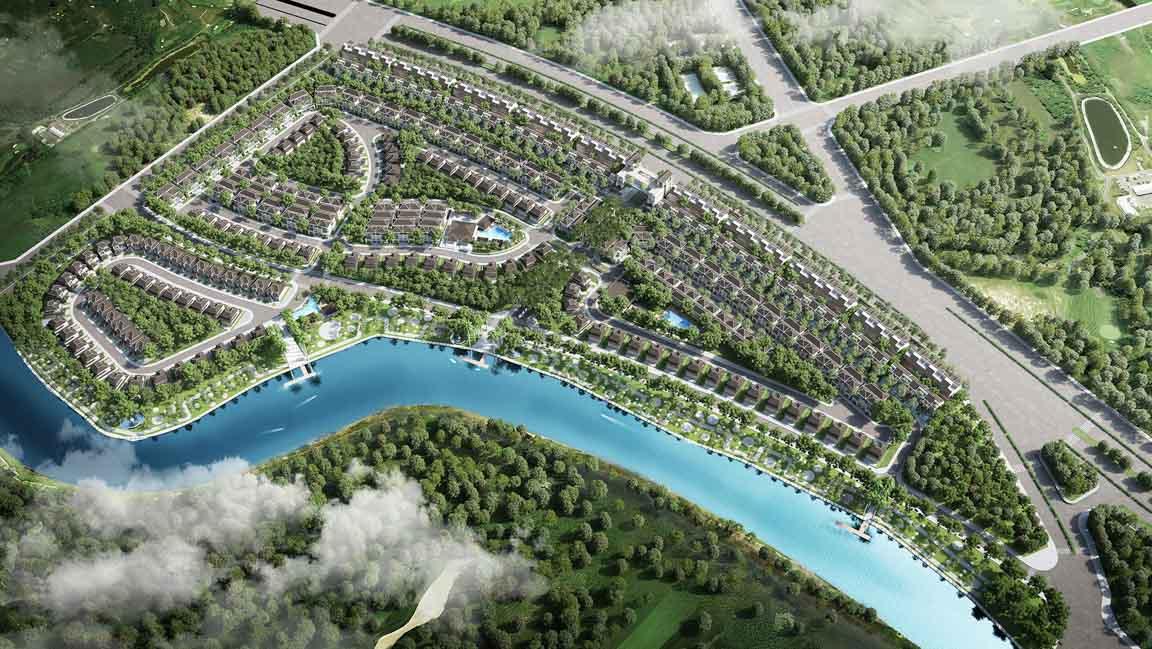 Nhà phố biệt thự Nhà Bè – Top #2 dự án chuẩn bị bán 2020