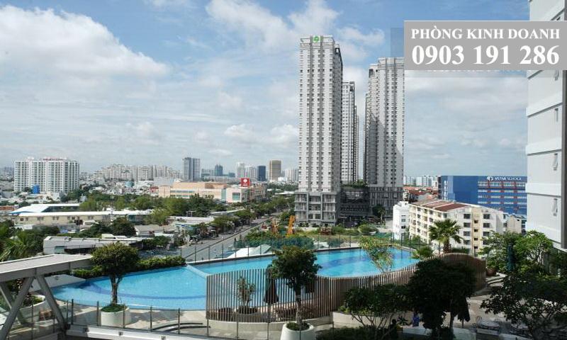 Sunrise Cityview cho thuê 3 phòng ngủ tầng 7 toà A nội thất xịn view hồ bơi 1100 USD
