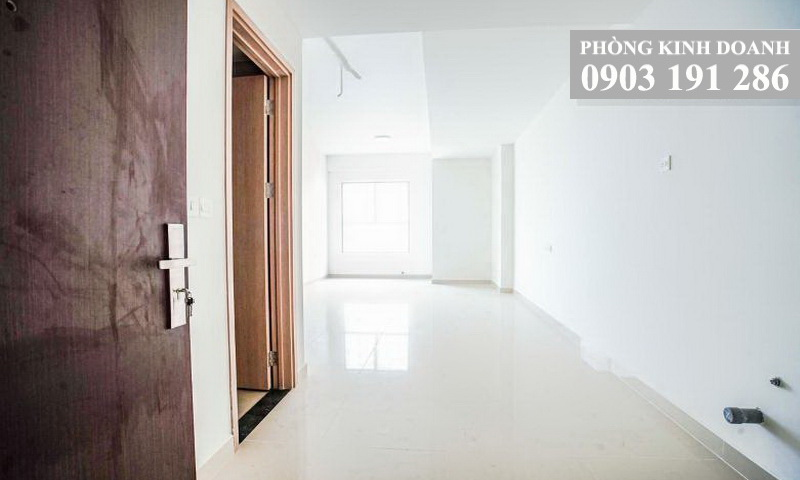 Cho thuê Sunrise Cityview 1 phòng ngủ lầu 18 toà B nội thất cơ bản view sông 400 USD