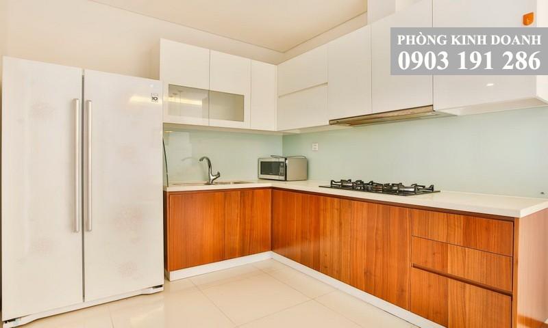 Cho thuê căn hộ Thảo Điền Pearl 2 phòng lầu 15 block B nội thất đầy đủ view sông