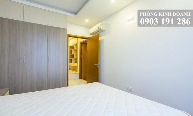 Cho thuê căn Thảo Điền Pearl 2 phòng ngủ lầu 20 block B nội thất đầy đủ view sông