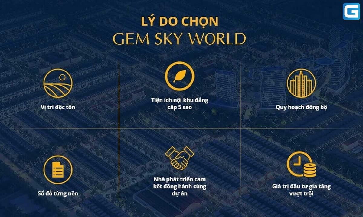 dự án đất nền Gem Sky World đồng nai
