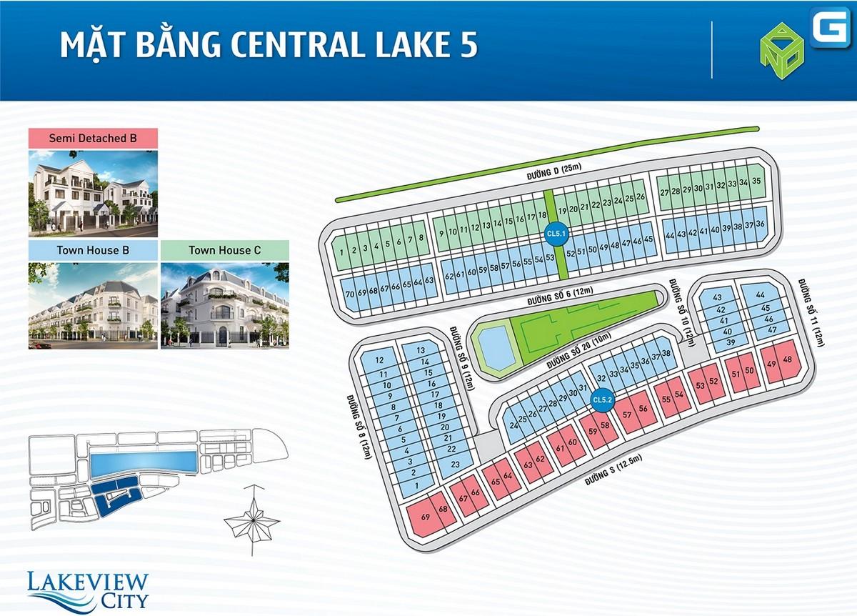 dự án Lakeview City QUận 2