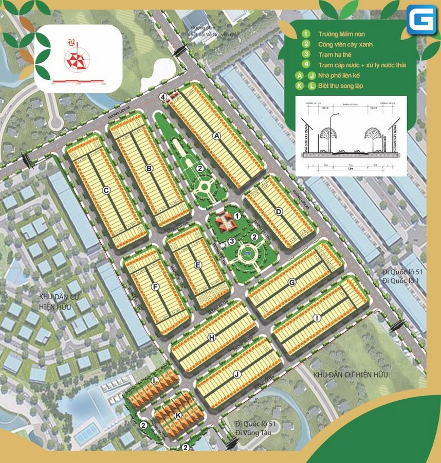 Biên Hòa Golden Town đầy đủ chức năng nằm trung tâm
