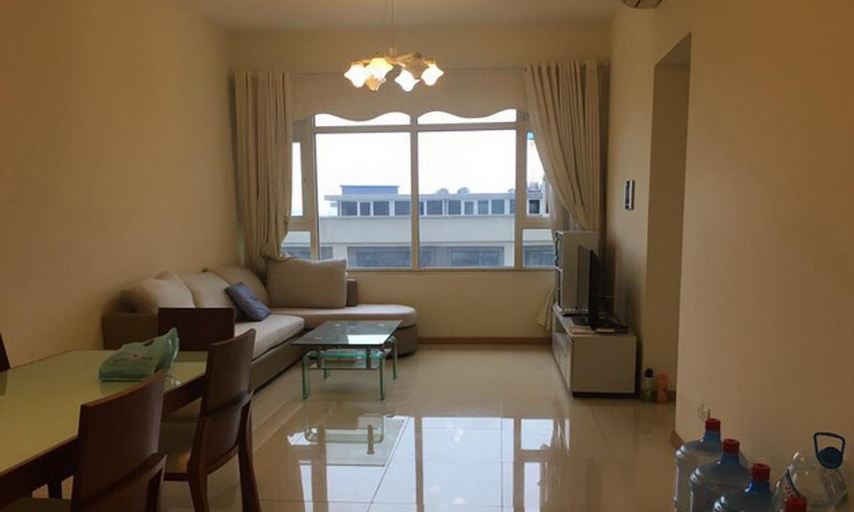 Căn hộ Saigon Pearl cho thuê 2 phòng ngủ lầu 5 thoáng tháp Sapphire 1 có nội thất