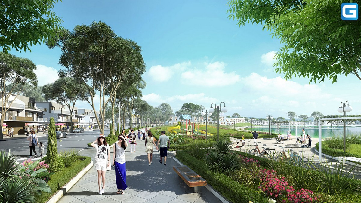 dự án căn hộ Hồ Gươm Xanh thuận an Bình Dương
