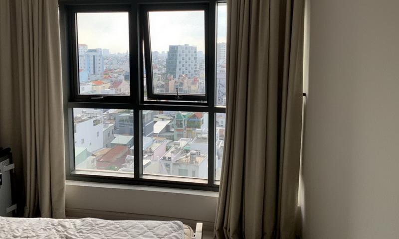 City Garden 3 phòng ngủ cho thuê lầu 9 toà B1 nội thất đẹp view quận 1