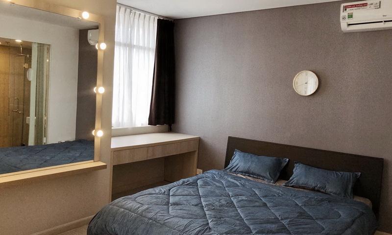 Cho thuê căn hộ City Garden lầu 15 toà B1 nội thất đầy đủ view quận 1 1 phòng ngủ