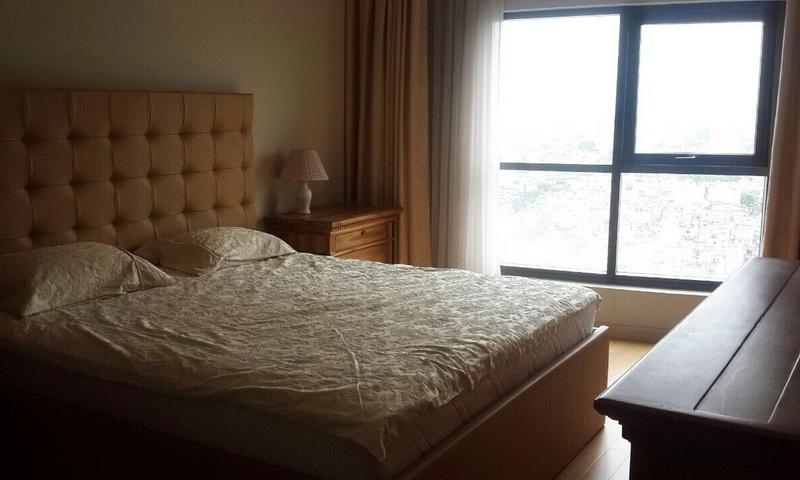 Căn hộ cho thuê City Garden lầu 22 toà B1 nội thất đầy đủ 2 phòng ngủ thoáng