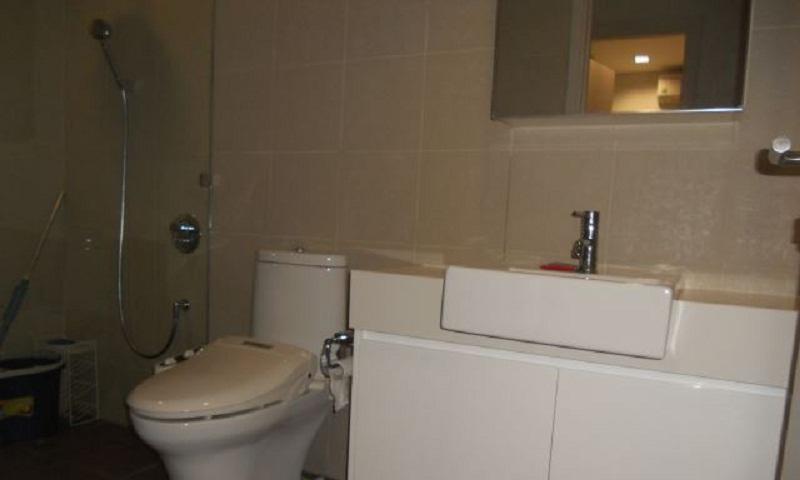 Căn hộ cho thuê City Garden tầng 2 toà B2 nội thất full view nội khu 2 phòng ngủ