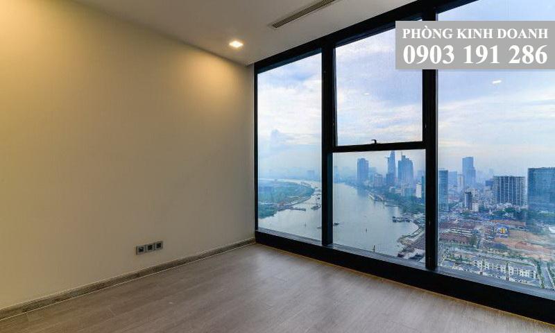 Căn hộ Opal Saigon Pearl cho thuê 4 phòng ngủ lầu 15 nhà trống view sông