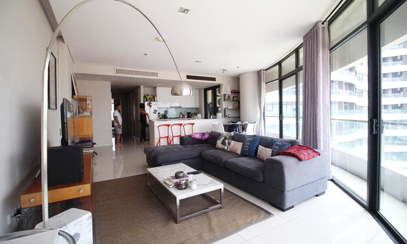 City Garden Bình Thạnh cho thuê 3 phòng ngủ tầng 6 tháp A nhà đẹp view quận 1